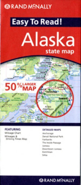 Rand McNally Alaska Travel Map