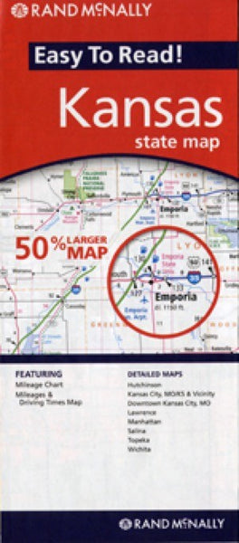 Rand McNally Kansas Travel Map