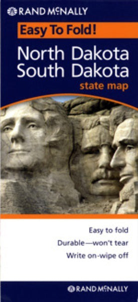 Rand McNally North and South Dakota Travel Map