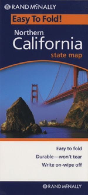 Rand McNally Northern California Travel Map