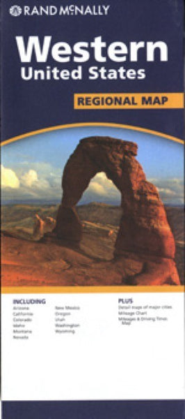 Rand McNally Western USA Travel Map