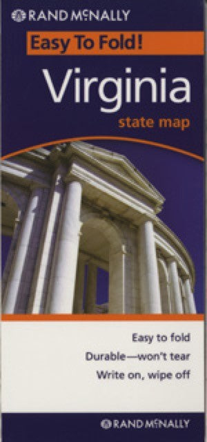 Rand McNally Virginia Travel Map