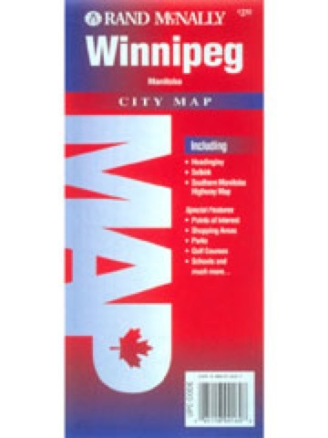 Rand McNally Winnipeg, Manitoba Street Map