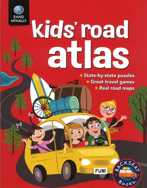 Kids' Road Atlas by Rand McNally