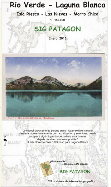 Rio Verde-Laguna Blanca Travel Map (Spanish Edition)