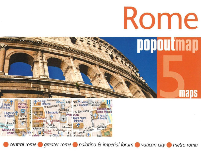 Cover of Rome, Italy, PopOut Map
