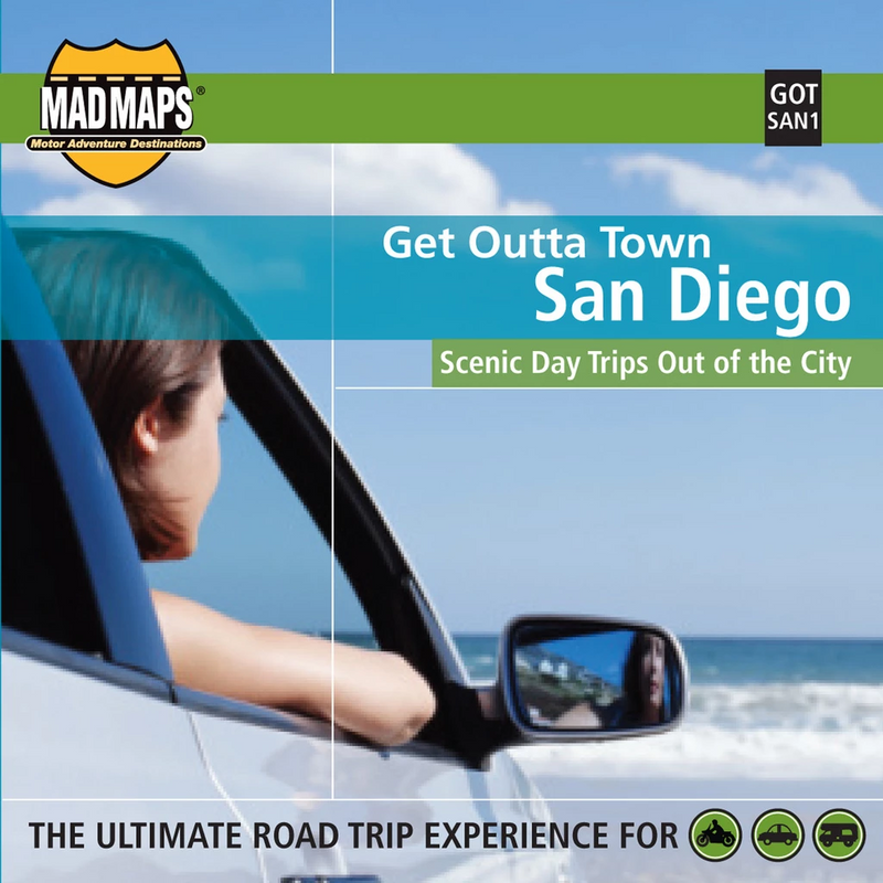 San Diego, California, Get Outta Town by MAD Maps