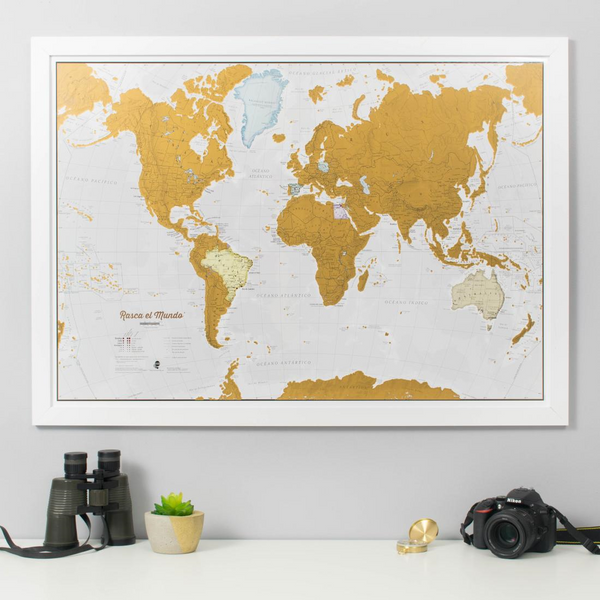 Rasca Del Mundo by Maps International Ltd.