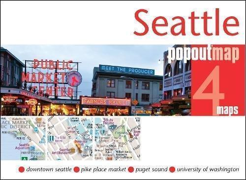 Cover of Seattle, Washington, PopOut Map