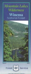 Cover of Winema National Forest Map by U.S. Forest Service