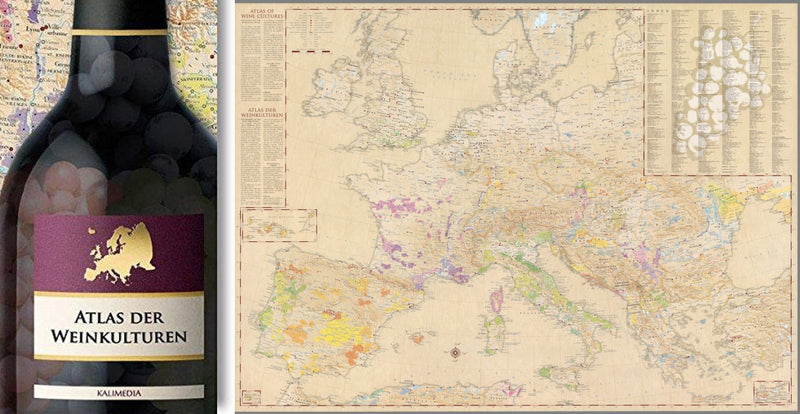 Cover of Atlas of Wine Cultures : Europe