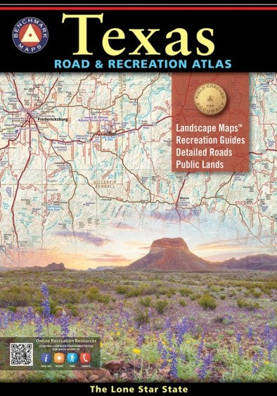 Texas Road and Recreation Atlas