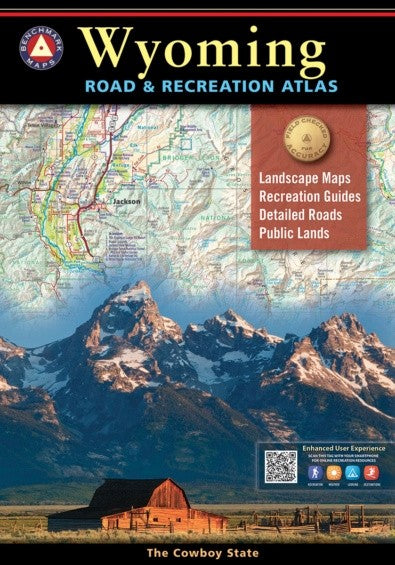 Wyoming Road and Recreation Atlas
