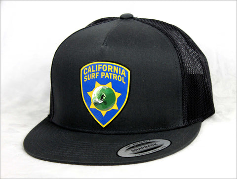 California Surf Patrol Trucker Hat