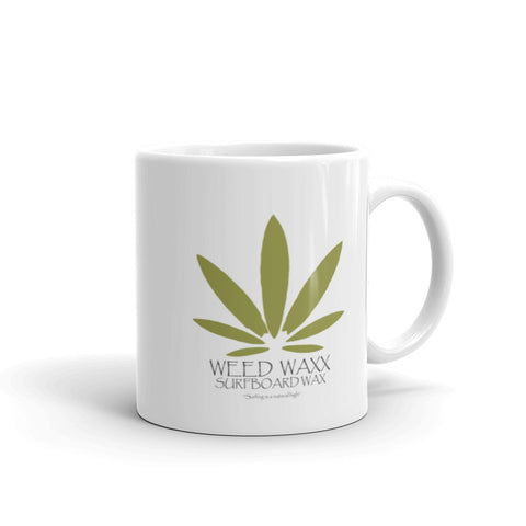 Weed Waxx Surfboard Wax Coffee Mug