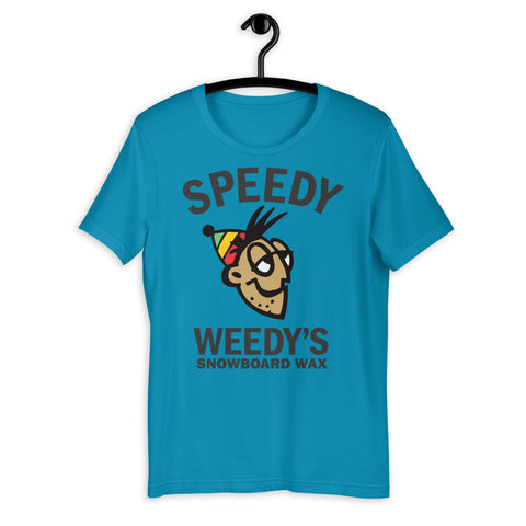 Speedy Weedy's Snowboard Wax Short-Sleeve Super Soft Unisex T-Shirt