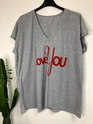 Tee Shirt Love - lili ross