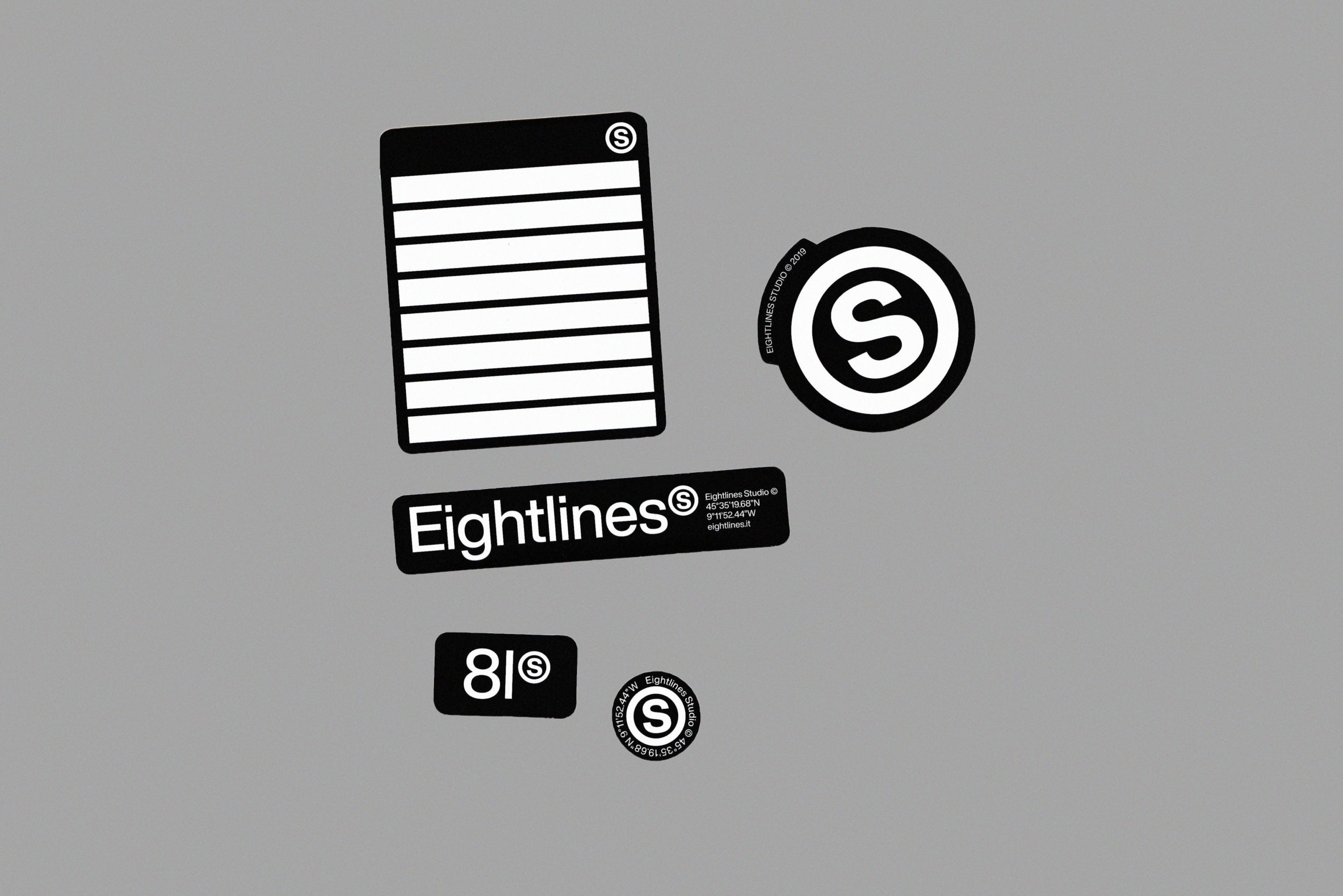 Load image into Gallery viewer, Eightlines Stickers Pack