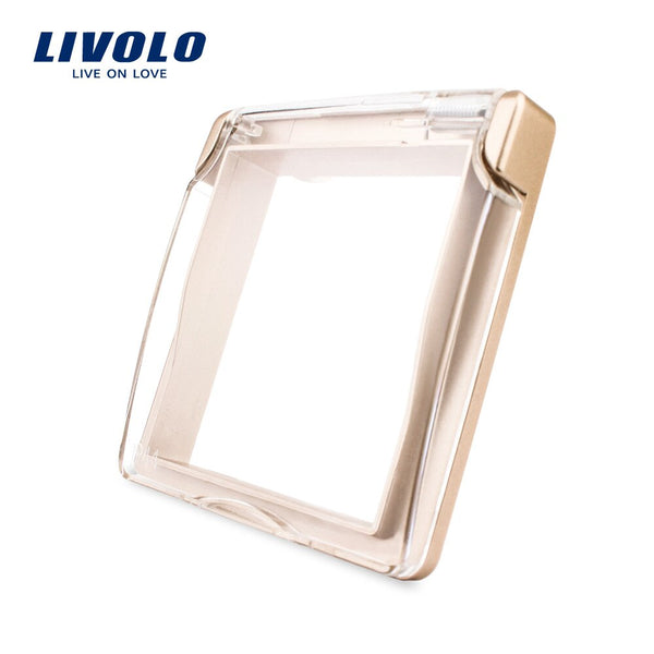 Livolo EU Standard Socket Waterproof Cover,Plastic Decorative For Socket, 4 colors ,C7-1WF-11/12/13/15,do not include the socket