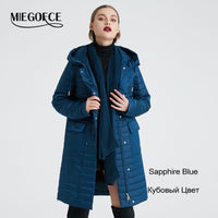 MIEGOFCE 2019 Spring Autumn Women's Coat Women's Fashion Windproof Jacket With Stand Up Collar Women's Jackets New Spring Design