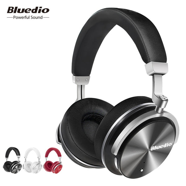 Bluedio T4 Active Noise Cancelling Wireless Bluetooth Headphones wireless Headset with microphone for music
