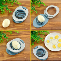 KitchenAce Multifunctional Egg Slicer & Cutter Sectioner Cutter Mold Kitchen Splitter Gadgets Shaping Gadgets&Tools Ferramentas