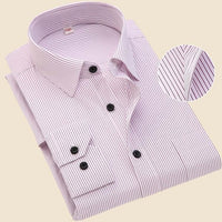 Men Long Sleeve Shirt 2019 Spring New Brand Solid Color Business Office Formal Men Dress Shirt Plus Size Male Shirt Chemise 7XL