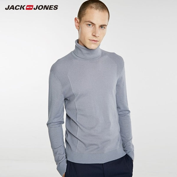 JackJones Men's Wool Turtle Neck Sweater Slim fit Pullover Top Menswear 218324517 218425519