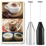 Electric Milk Frother Kitchen Drink Foamer Whisk Mixer Stirrer Coffee Cappuccino Creamer Whisk Frothy Blend Whisker Egg Beater