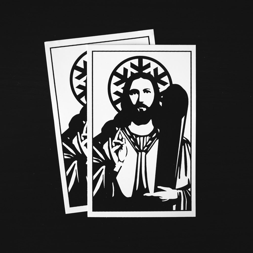 Church of Powder Day Saints Sticker - Pack of 2