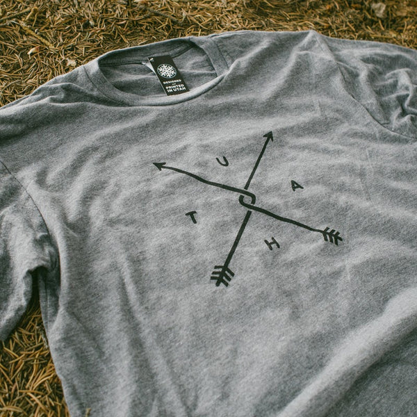 Utah Bent Arrow Tee