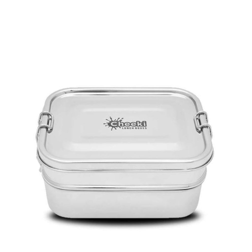 Cheeki Stainless Steel Lunch Box 2 Layers 1L