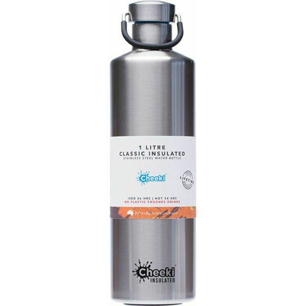 Cheeki Water Bottle Classic Stainless Steel Vacuum Insulation BPA & Toxin Free - GCS Emporium Store
