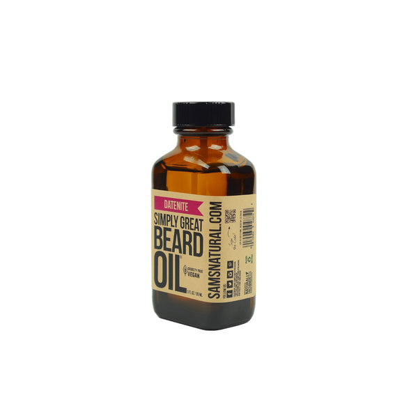 Sam's Natural Handcrafted Natural Beard Oil Datenite 89ml - GCS Emporium Store