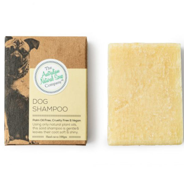 The Australian Natural Soap Company The ANSC Soap Bar Dog Shampoo 100gm - GCS Emporium Store