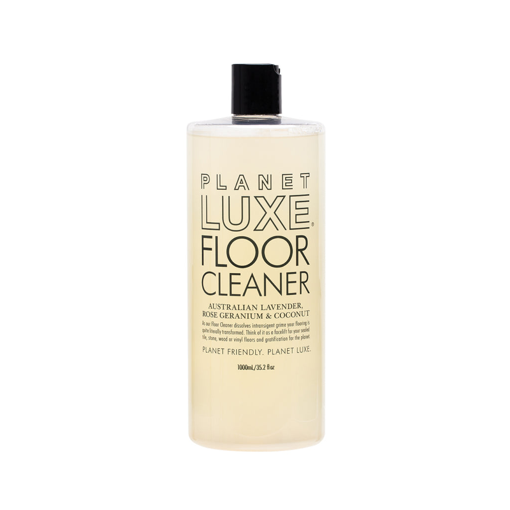 Planet Luxe Natural Floor Cleaner Rose Geranium & Coconut Scent 1L - GCS Emporium Store