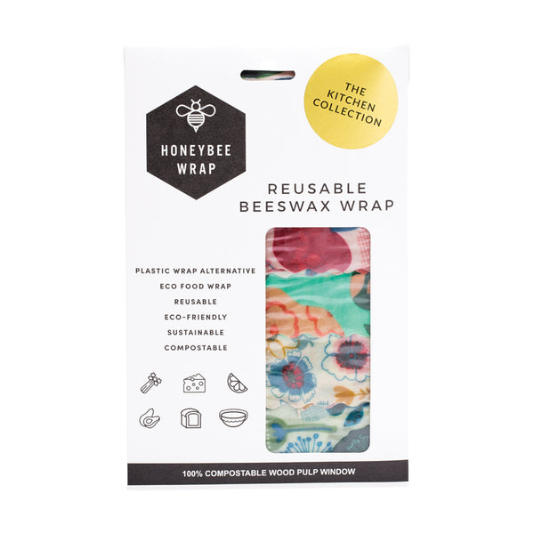 Honeybee Wrap HoneyBee Co. Food Wraps Reusable Food Wraps Starter or Kitchen Sets - GCS Emporium Store