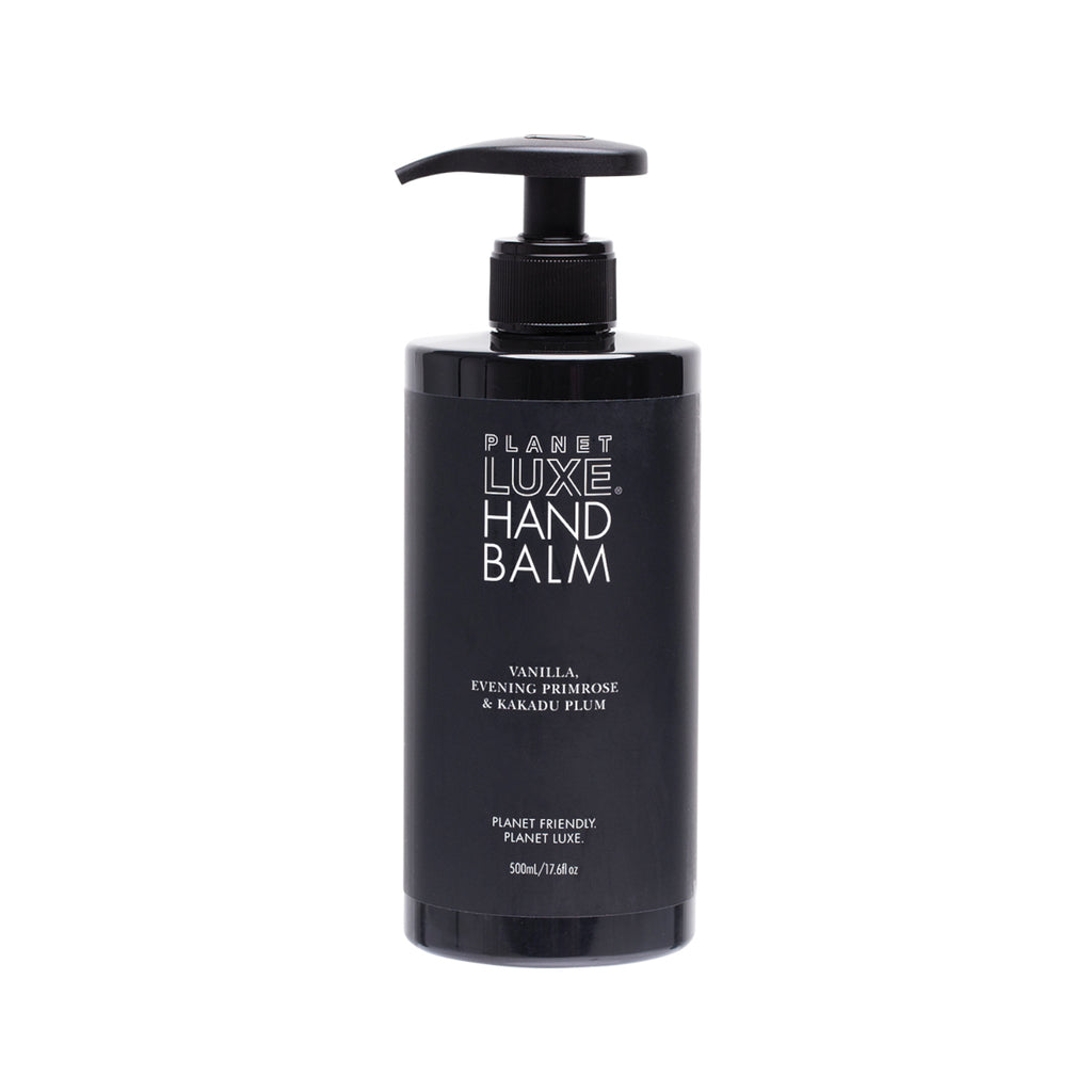 Planet Luxe Planet Luxe Natural Hand Balm Vanilla, Primrose Blend 500ml - GCS Emporium Store