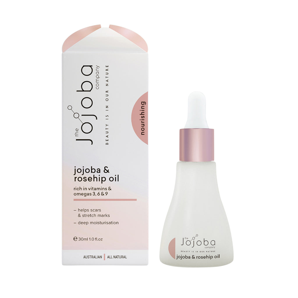 The Jojoba Company Australian Jojoba Oil with Rosehip 30ml - GCS Emporium Store
