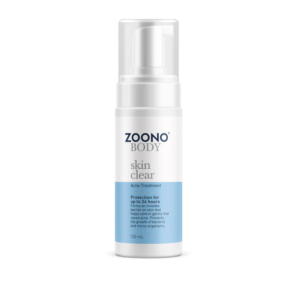 Zoono Skin Clear 24hr Acne Treatment Foam 50ml or 150ml - GCS Emporium Store