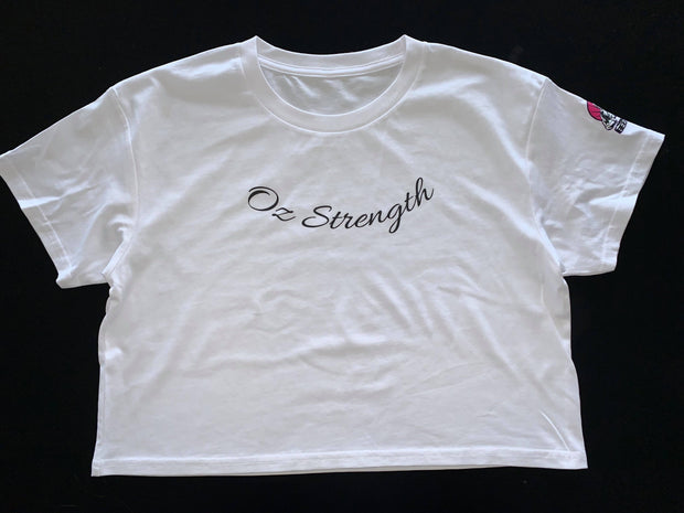 Ozstrength Crop Tee