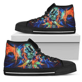 Women's High Top Shoe - Winged Creature