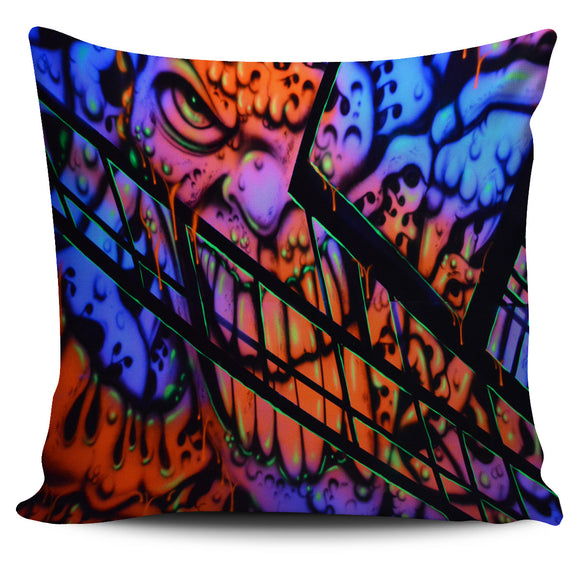 Pillow Cover - Gooey Face Fractal