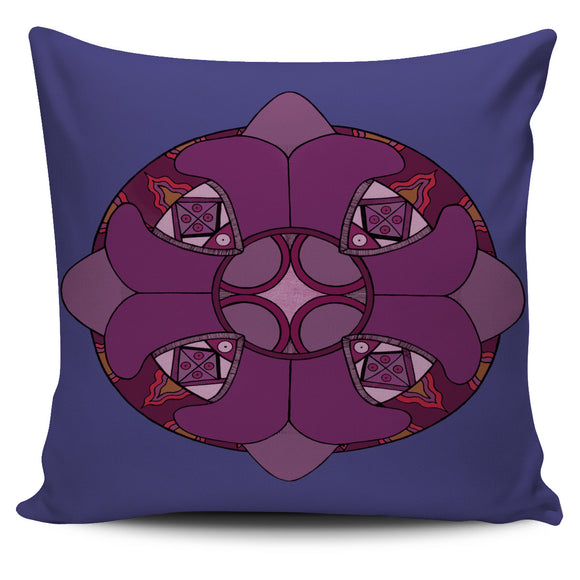 Pillow Cover - Slaya's Collection - Red/Purple Pendant