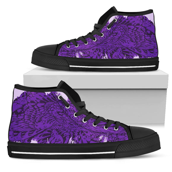 High Top Shoe - Purple Haze