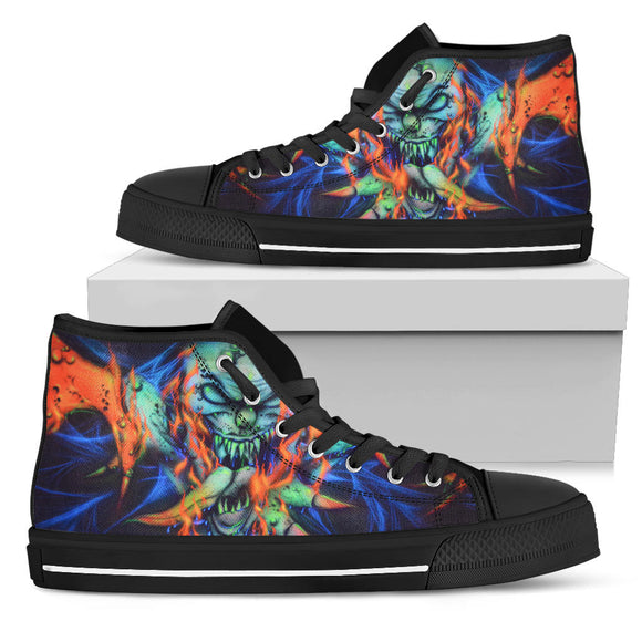 Men's High Top Shoe - Winged Creature