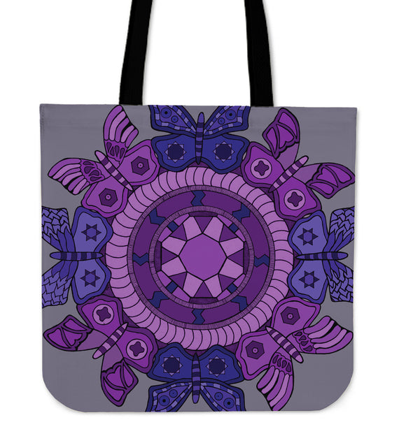Tote Bag - Slaya Collection - Butterfly Medallion