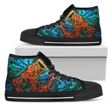 Men's High Top Shoe - Monster