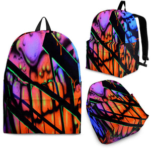 Backpack - Gooey Face Fractal - Express Shipping