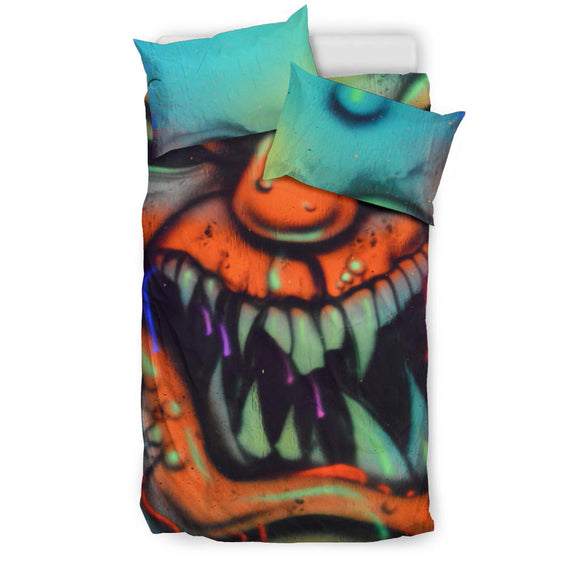 Bedding Set - Clown Fang - Express Shipping
